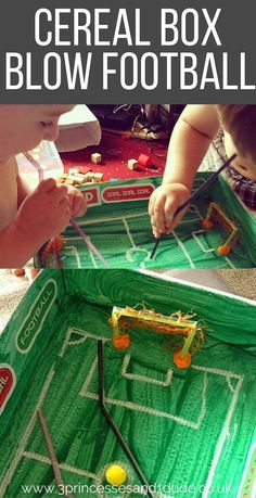 Cereal Box Soccer game