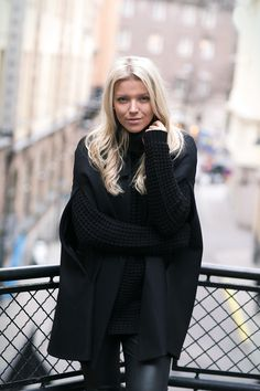 BLACK ON BLACK : P.S. I love fashion by Linda Juhola