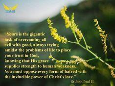 +St John Paul II+ St John Paul Ii, Trust God, Catholic, Life, Roman Catholic