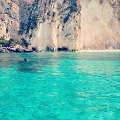 blue ionian sea platia ammos kefalonia lixouri