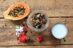 Paleo Raw Granola from Strong & Radiant #rawfood #vegan #paleo #granola #summersanders