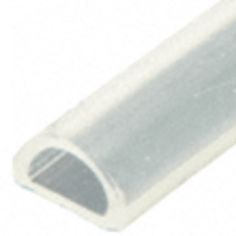 Translucent Silicone Bulb Seal - Shower Seal.  (S1LB)