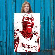 Dwight Howard Houston Rockets Poster