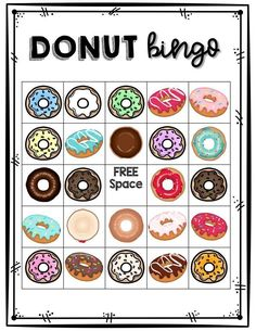 These centers are great for a day, week, or month of donut fun in your classroom! The activities are differentiated for all grade levels. Here is what is included: Tips and Tricks for Teachers Suggested Books Donut Fun Facts Donut vs. Party Games Group, Office Party Games, Beach Party Games, Bridal Party Games, Backyard Party Games, Engagement Party Games, Dinner Party Games, Graduation Party Games, Wedding Games