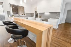 Perfectly grain matched joinery of wooden Redheart Sassafrass island servery. Designed by Creative Cabinets, Melbourne. Custom Cabinets, Cabinet Design, Joinery, Melbourne, Kitchen Design, Custom Design, New Homes, Interiors, Island