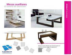 Muebles para hoteles - mesas auxiliares