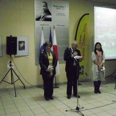 Inauguration de la semaine de la solidarité pour le Japon