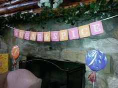 Sugar and Spice girl baby shower banner