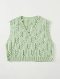 Crop Top Outfits, Trendy Outfits, Cute Outfits, Fashion Outfits, Knit Cardigan Pattern, Crop Top Sweater, Fashion Line, Alternative Outfits, Cool Sweaters