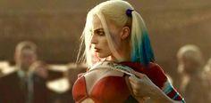 Margot Robbie como Harley Quinn en la película Escuadrón Suicida