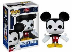 Boneco Funko Pop! - Mickey Mouse