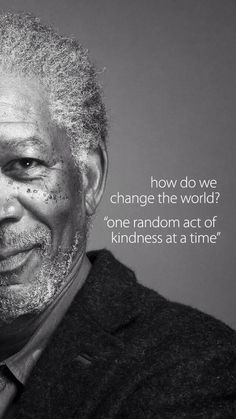 How do we change the world? #kindness