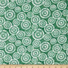 A New Leaf Pinwheel Swirl Jade