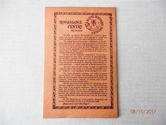 Renaissance Pleasure Faire Of Southern California Paramount Ranch 1976 Program | eBay