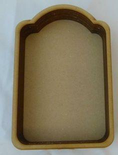 Wood tag layer shadow box