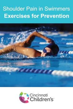 Learn two simple tricks to prevent or alleviate shoulder pain in swimmers before it becomes an injury from overuse.