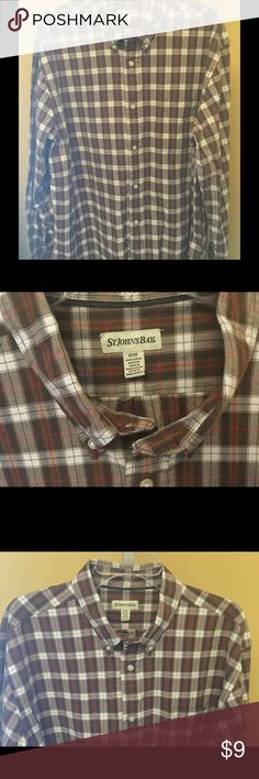 Men's Nice Casual Dress Shirt Nice shirt for him! St. John's Bay Shirts Casual Button Down Shirts