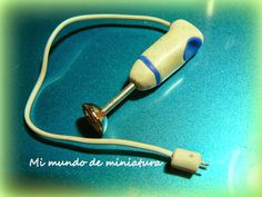 Mi mundo de miniatura: Batidora Minipimer hand blender tutorial