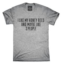 You can order this Funny Honey Bee Keeper t-shirt design on several different sizes, colors, and styles of shirts including short sleeve shirts, hoodies, and tank tops.  Each shirt is digitally printed when ordered, and shipped from Northern California.
