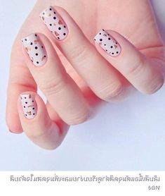 Black Nail Designs, Usb Flash Drive, Nails, Nail Nail, Boho Style, Target, Polka Dots, Hair Makeup, Summer