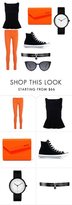 """Naruto uzumaki"" by sadie20125 on Polyvore featuring Alice + Olivia, Jimmy Choo, Converse, Fallon and Fendi"