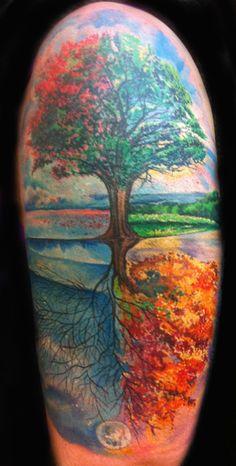 Joey Hamilton Tattoo - Portfolio Joey Hamilton | Joey Hamilton Tattoo  Carmen's Arm!!!