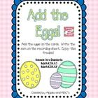 This is a little freebie to use as a math center.  The kids count the eggs and write the sum on the recording sheet.  Happy Spring!  If you happen ...