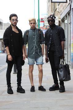 blvck-street:  blackhoodfashionking:  B L C K H D F K  ✖✖✖✖