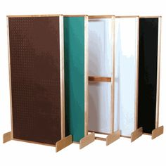 Pegboard Partition Divider, 11900 by Wood Designs by Wood Designs | BizChair.com