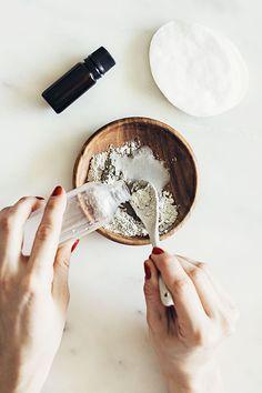 мульти-маска. Домашние маски. Маска с глиной для Т-зоны. DIY косметика.