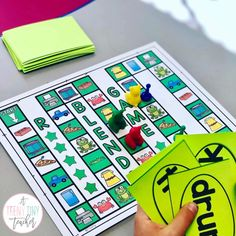 Games! Games! Games! - A Teeny Tiny Teacher Phonics games for first grade