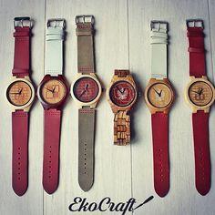 JEDYNE, DREWNIANE, PATRIOTYCZNE zegarki. Teraz z okazji wygranej POLAKÓW 10% rabatu na wszystkie akcesoria patriotyczne! ⚽️ LEWY rules@_rl9 #ekocraft #polskawalczaca #polska  #poland #patriota  #patriotic #fashion #lewandowski #polishbrand #madeinpoland  #wood #drewno #zegarki #etsy #fathersday #dzienojca #watches #watch