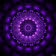 patterned purple... -  [someone else's lovely caption]