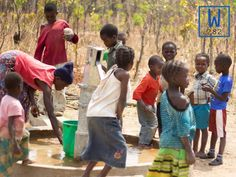 Clean water wells help prevent water related sickness from dirty water. #cleanwater #W282