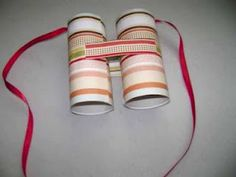 How to Make Binoculars from Toilet Roll Tubes. What better for the little birdwatcher or spy in your life than a pair of play binoculars? Whether they make these on their own (highly encouraged) or you make them yourself for playtime,. Easy Crafts For Kids, Projects For Kids, Diy For Kids, Toilet Roll Craft, Toilet Paper Roll Crafts, Recycled Toys, Recycled Crafts, Paper Towel Rolls, Preschool Crafts