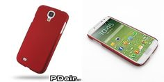PDair Rubberized Hard Cover for Samsung Galaxy S4 SIV GT-I9500 (Red)