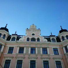 Beautiful and elegant building in Riga.