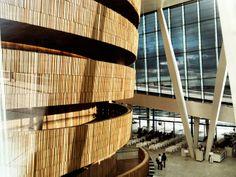 Oslo opera house, interior