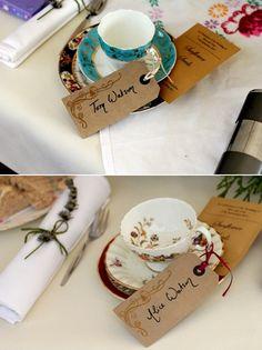 Vintage Tea Party theme. #ThemedWedding #GrahamBeck #MyRoyalWedding
