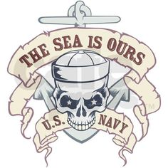 The Sea is Ours - US Navy Mug
