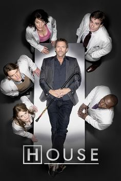House M.D, gosh it makes me laugh so much :D He's brilliant just brilliant
