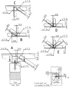 Open web steel joists: closely spaced, shop fabricated