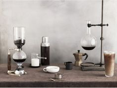 siphon coffee - a regular weekend ritual in the wisehold (though this is not my photograph). beautifully photographed by andrew purcell, props styling: sarah cave, food styling: carrie purcell