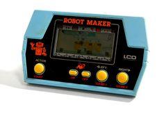 80s Retro Takatoku Toys LCD handheld Game Robot Maker MIJ 1981 Great Condition #TakatokuToys
