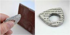 Mod Podge DIY Paper Ring With Step by Step Tutorial