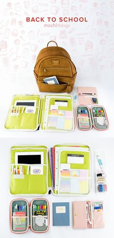 Super cute & adorable organization stuff from http://www.mochithings.com! =O