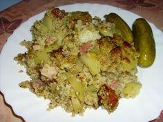 Recept: Kroupová baba na Labužník. Polenta, Potato Salad, Grains, Potatoes, Rice, Ethnic Recipes, Diet, Cuba, Bulgur