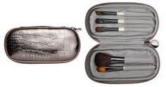 Chantecaille Travel Brush Set (Spring Perfect for women on the go, the chic new set contains 5 scaled down brushes to address virtually every makeup need. Concealer Brush, Eyeliner Brush, Neiman Marcus, Travel Brushes, Best Travel Accessories, Makeup Needs, New Travel, Travel Set