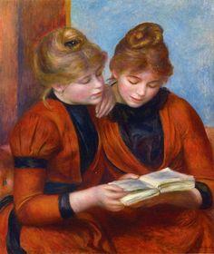 Renoir, Two Sisters - 1889