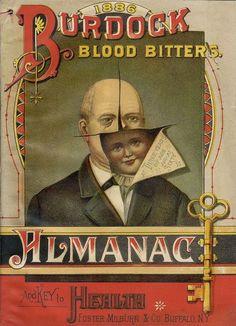 1886 Burdock Blood Bitters Almanac